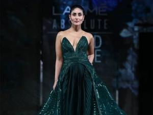 Kareena Kapoor Khan Walks The Ramp As A Finale Showstopper At Lakme Fashion Week Summer Resort