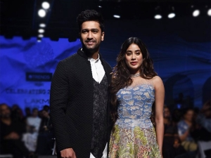 Lakme Fashion Week Summer Resort 2020 Janhvi Kapoor And Vicky Kaushal Stuns The Ramp
