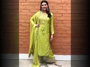 Kajal Aggarwal S Green Suit For Maha Shivratri
