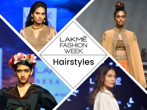 Lakme Fashion Week Hairstyles