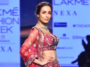 Malaika Arora Khan Sparkling Make Up At Lakme Fashion Week
