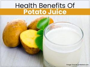 Health Benefits Of Raw Potato Juice