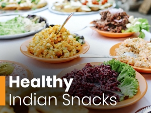 Healthy Indian Snacks To Ease Your Hunger