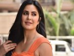 Katrina Kaif In An Orange Midi At Sooryavanshi Trailer Launch