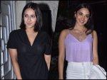 Kiara Advani And Akansha Ranjan Kapoor At Guilty S Screening