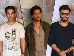 Shah Rukh Khan Arjun Kapoor And Rajkummar Rao At Kaamyaab Screening