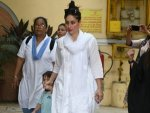 Kareena Kapoor Khan In An All White Ethnic Attire For Holi Celebration