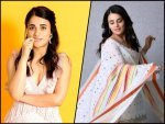 Five Best Outfits Of Radhika Madan From Angrezi Medium Promotional Rounds