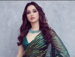 Tamannaah Bhatia S Latest Photoshoot In Gorgeous Sarees And Jackets