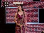 Petta Actress Malavika Mohanan In A Sabyasachi Purple Suit