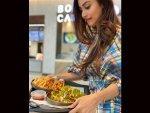 Mouni Roy S Checkered Dress Goals Photoshoot
