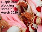 Auspicious Hindu Wedding Dates In March