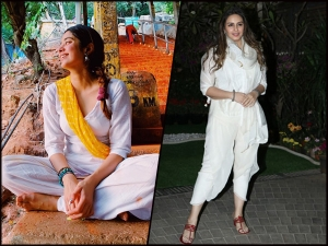 Janhvi Kapoor Kareena Kapoor Khan And Other Divas White Outfit For Holi Festival