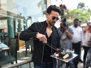 Tiger Shroff Celebrates Birthday At Baaghi 3 Recent Promotional Round With Shraddha Kapoor