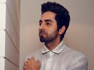Ayushmann Khurrana In A Shiny Silver Jumpsuit For An Event