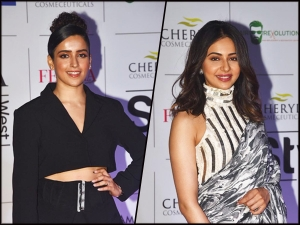 Rakul Preet Singh And Sanya Malhotra In Wow Outfits For An Event