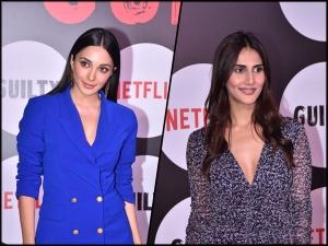 Kiara Advani Vaani Kapoor And Other Divas At Guilty Premiere