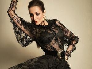 The Price Of Malaika Arora S Bold Black Dress Will Blow Your Mind