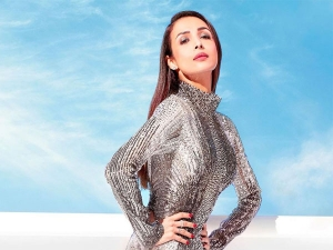 Malaika Arora In A Sequin Silver Bodycon Gown For Latest Photoshoot