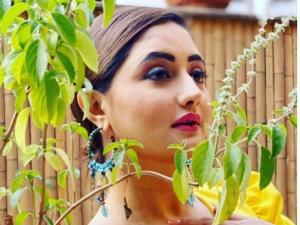 Uttaran Actress Rashami Desai Shines Bright In One Shoulder Yellow Mini Dress