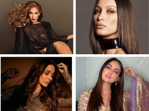Instagram Beauty Looks Of The Week Jennifer Lopez Bella Hadid Malaika Arora And More