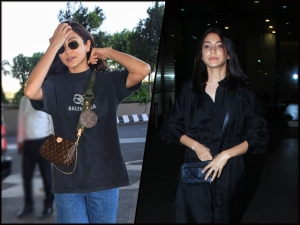 Anushka Sharma Spotted At Airport In Two Amazing Outfits
