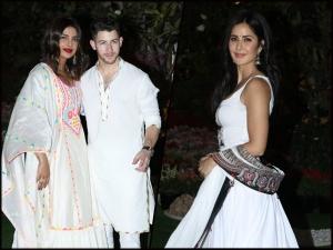 Priyanka Chopra Nick Jonas Katrina Kaif And Others At Isha Ambani S Holi Party