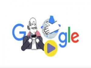 Google Doodle Ignaz Semmelweis Importance Of Washing Hands Coronavirus