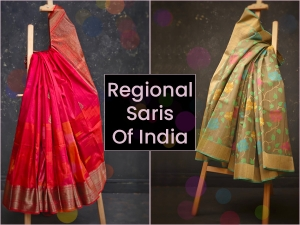 Types Of Regional Traditional Saris From India