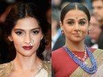 Sonam Kapoor Ahuja And Vidya Balan S Nath Fashion At Cannes Film Festival