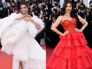 Aishwarya Rai Bachchan S Red Carpet Gowns At Cannes Film Festival