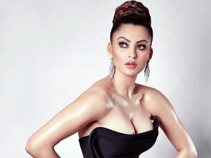 Pagalpanti Actress Urvashi Rautela In A Bold Black Attire And Dazzling Hairdo