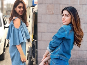 Alaya F And Niti Taylor S Throwback Pictures In Denims