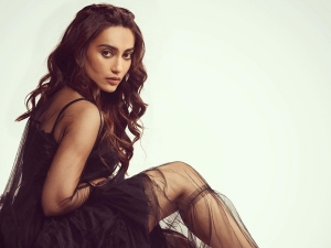 Qubool Hai Actress Surbhi Jyoti Sizzles In A Black Dress In Latest Photoshoot