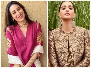 Sonam Kapoor Ahuja And Karisma Kapoor S Ethnic Ensembles For Ramadan