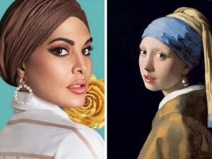 Jacqueline Fernandez Gives Modern Interpretation Of Girl With A Pearl Earring Painting