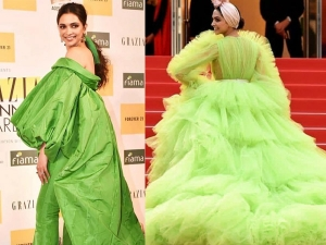 Deepika Padukone S Green Hued Outfits From Cannes And Grazia Awards