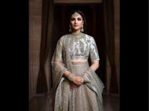 Parineeti Chopra S Photoshoot For The Khush Wedding Magazine
