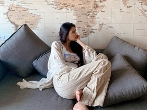 Athiya Shetty Oversized Shirts On Instagram