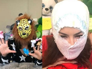 Sunny Leone S Diaper And Other Masks On Her Instagram