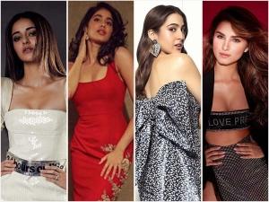 Ananya Panday Janhvi Kapoor Sara Ali Khan And Tara Sutaria S Party Outfits On Instagram