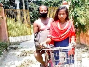 Bihari Girl Cycled For 1200 Km Carrying Her Father Will Receive Training At Cfi