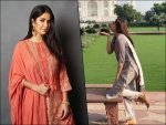 Kajal Aggarwal Katrina Kaif And Other Divas Best Traditional Outfits For Eid Ul Fitr