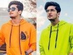 Tiktok Star Bhavin Bhanushali In Colourful Outfits