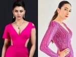 Urvashi Rautela Karisma Kapoor And Other B Town Divas In Pink Gown