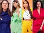Kareena Kapoor Khan Malaika Arora And Other Divas Create Rainbow With Pantsuits