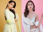 Alia Bhatt And Other Divas Light Sharara Suits For Eid Ul Fitr