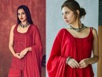 Sonakshi Sinha Mahira Khan And Other Divas Who Have Red Traditional Outfits For Eid Ul Fitr