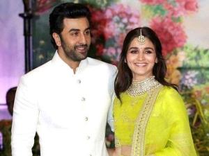 Alia Bhatt And Ranbir Kapoor Couple Look At Sonam Kapoor S Wedding Reception