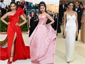 Deepika Padukone S Met Gala Looks From 2017